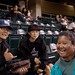 Players and fans visited between games at the the UH AUW Softball Tourment at Les Murakami Stadium on Sept. 30, 2011