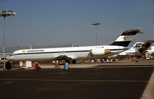 Aeropostal Airlines, McDonnell Douglas DC-9-50 10.76 365A