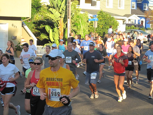 Manhattan Beach 10K race,