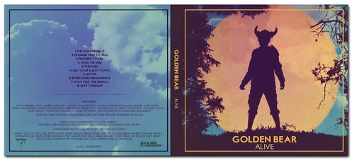 Golden Bear 'Alive' Album Art.