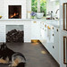 Michael Graydon / House and Home {white art deco vintage modern kitchen}
