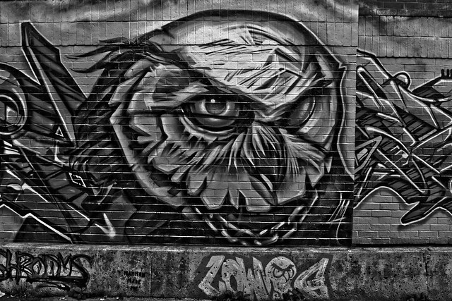 Graffiti Alley Toronto Black and White | Flickr - Photo ...