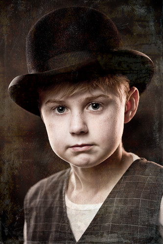 Kid with a Bowler Hat by The Derek