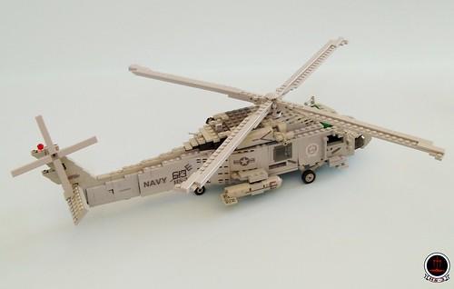 HS-3 'Tridents' SH-60F Seahawk (2)