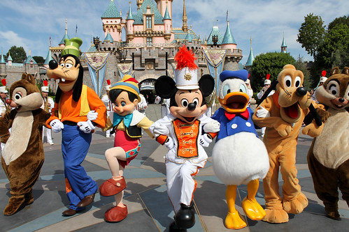 Disneyland Band with Mickey and Friends