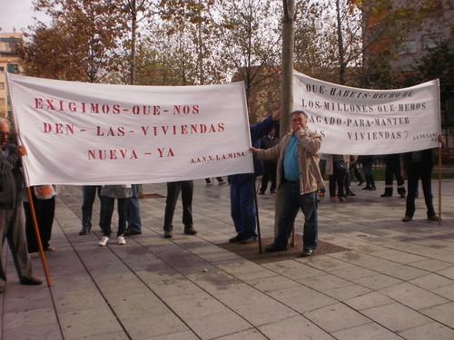 Manifestación Realojos (24 de octubre 2011)