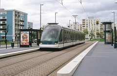 Trams de Strasbourg (France)