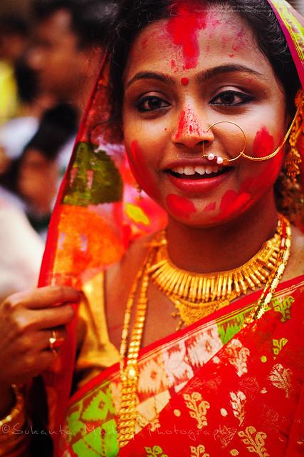 Sindur Khala : Bagbazar Puja Pandal