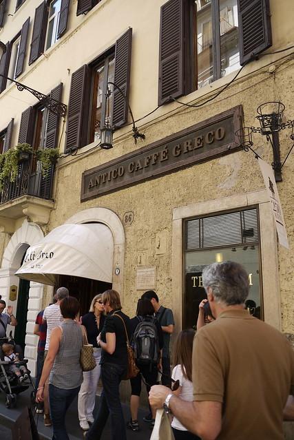 Antico Caffe' Greco 希臘咖啡館