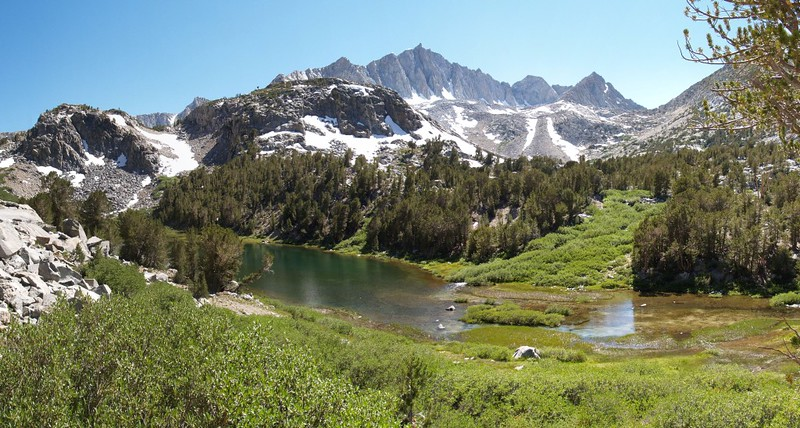 Spearhead Lake panorama