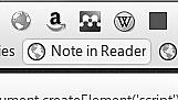 "R.I.P ""Note"" bookmarklet from Google Reader. It"