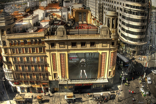 Cines Callao - Madrid by chucafox