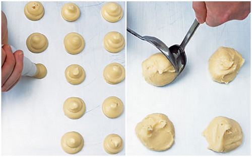 Choux pastry - Method 4