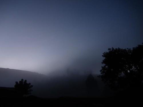 mist uganda morning