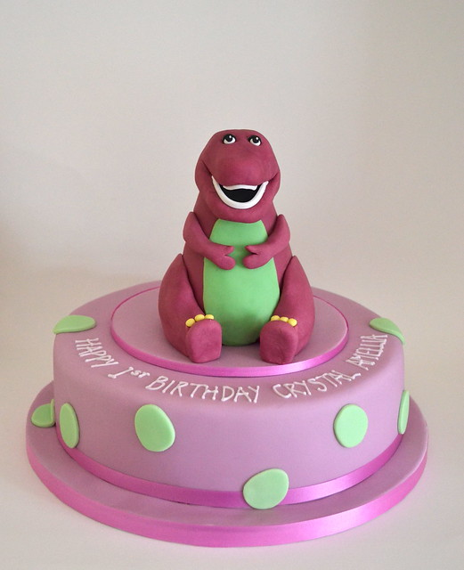 barney cake - photo #14