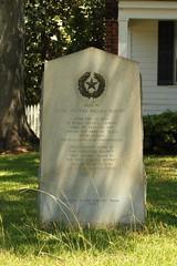 Photo of Stephen William Blount black plaque
