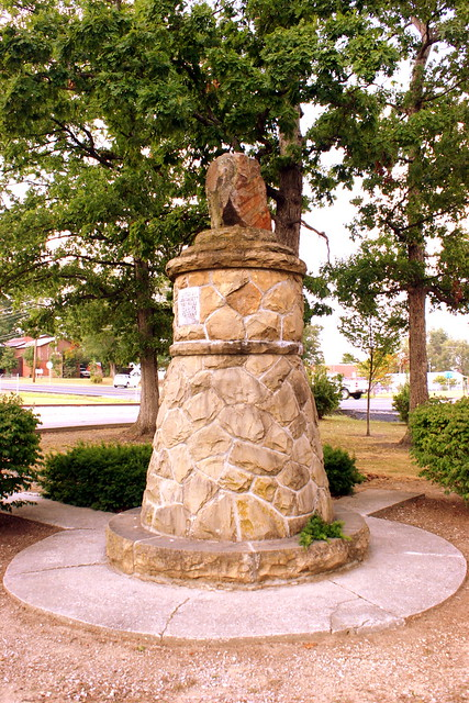 The Standing Stone Monument - Monterey, TN