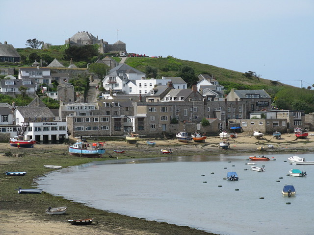 Hugh Town harbour, St Mary's
