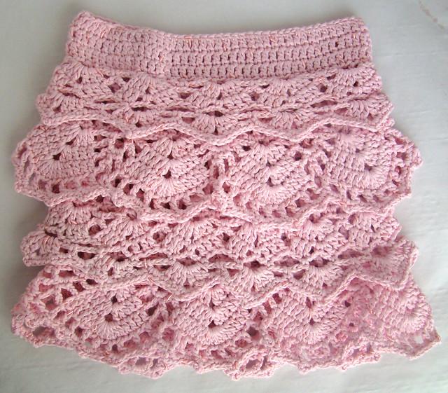 Crochet skirts patterns gallery