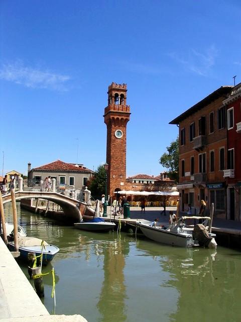 bell tower, murano
