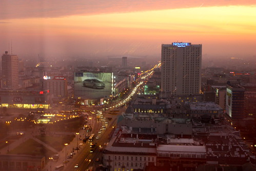 Warsaw (From Marriott hotel). Varsovia