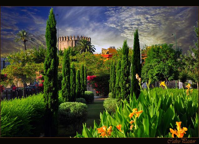 Jardines del parlamento de andaluc a sevilla flickr photo sharing - Jardines de sevilla ...