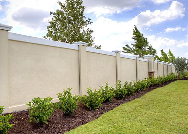 Precast concrete fence wall georgia florida 10 flickr photo sharing - Precast concrete fences ...