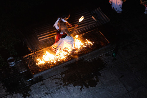 Fire Walking by photographer Hans Wessberg