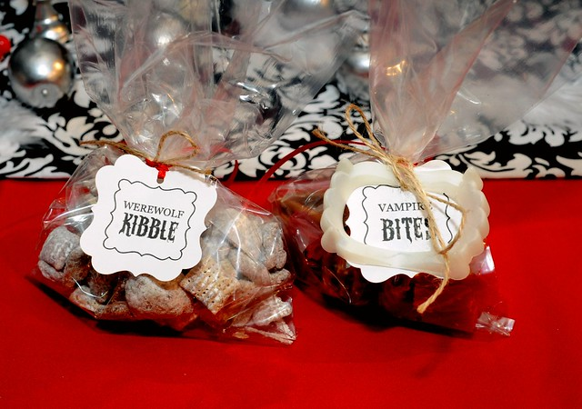 Werewolf Kibble and Vampire Bites-Treats for Breaking Dawn Party