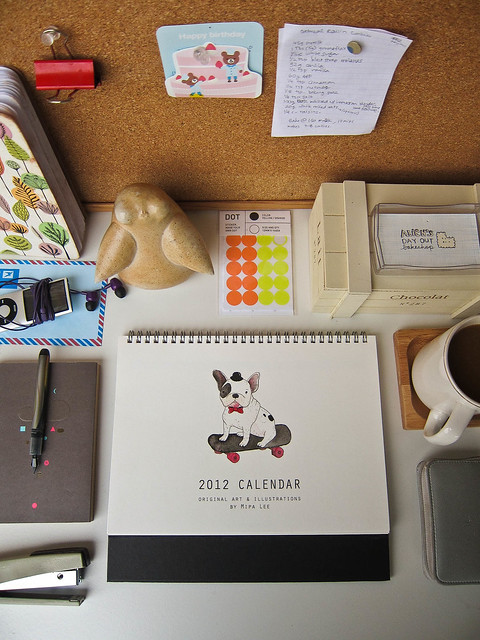 Happy Workspace 2012 Desk Calendar!
