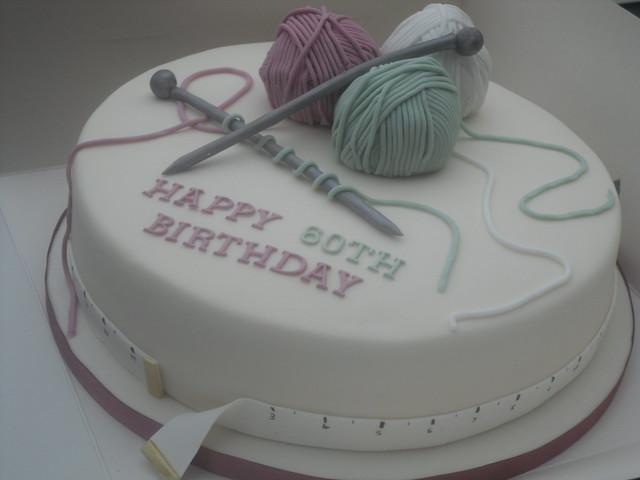 Knitting Cake Decorations : Knitting cake flickr photo sharing