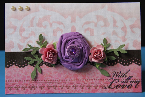 Blooming Flowers card