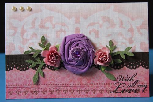 Blooming Flowers card