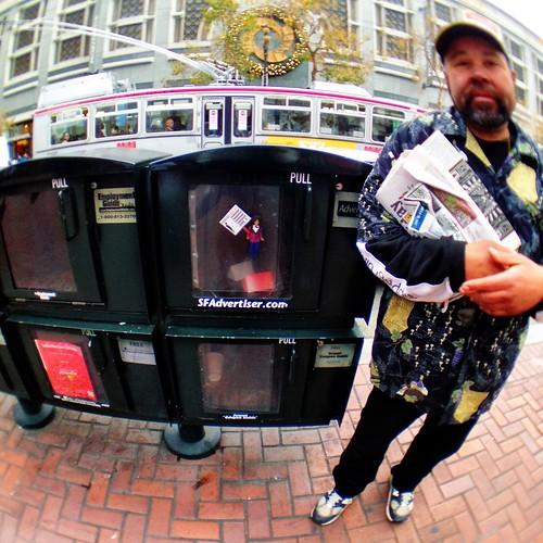 Occupy News Bins