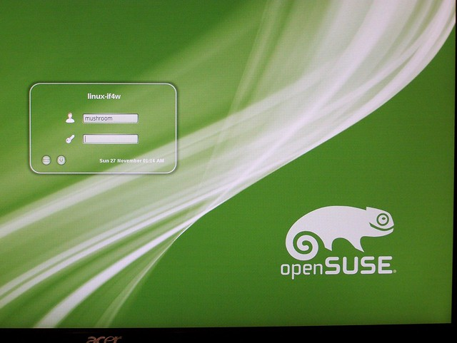 OpenSUSE 12.1 is finally functional for me
