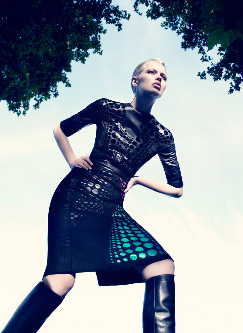 Alys Hale in David Koma by Paul Scala for V Magazine Online 3