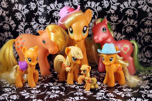 Mlp Cake Family
