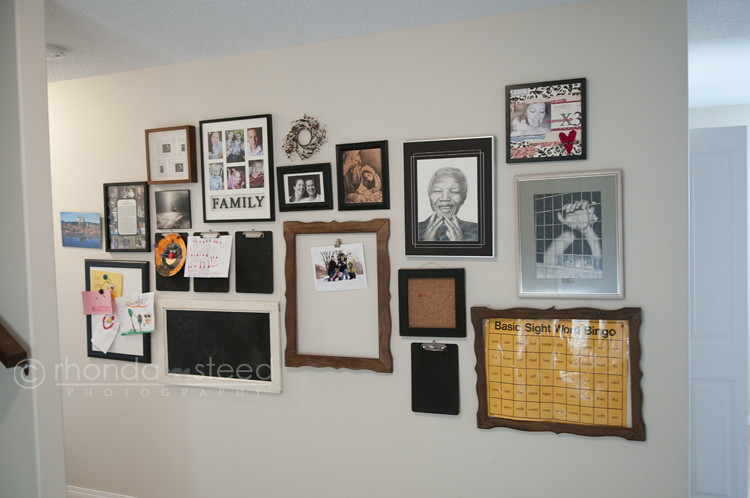 Basement Photo Wall