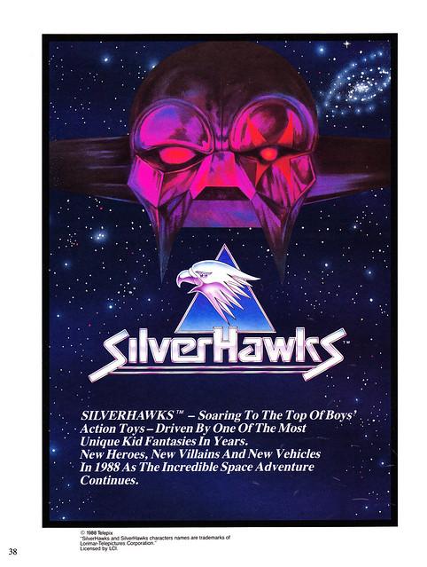 Silverhawks (KENNER) 1987 - 1988 6851363950_e3fe3894fb_z