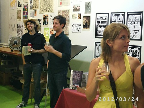 At the Andre Frattino Launch, March 2012