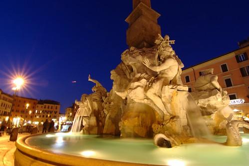 Postcard 2: Fontana dei Quattro Fiumi