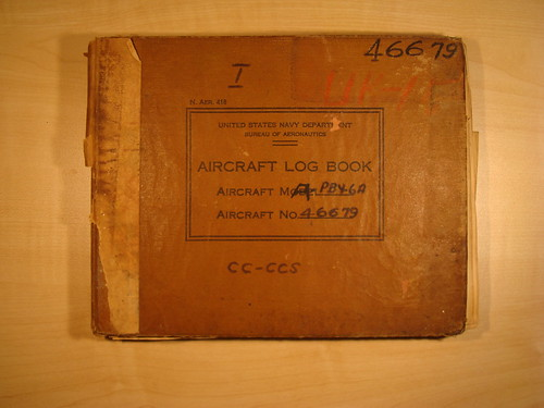 1# LOG BOOK CATALINA A-PBY-6A No 46676.. DSC01671