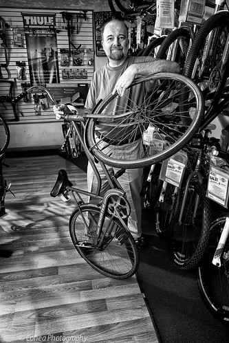 Bicycle shop owner,Easton.PA