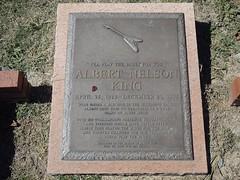 Albert King - Headstone