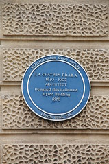 Photo of Julius Alfred Chatwin blue plaque