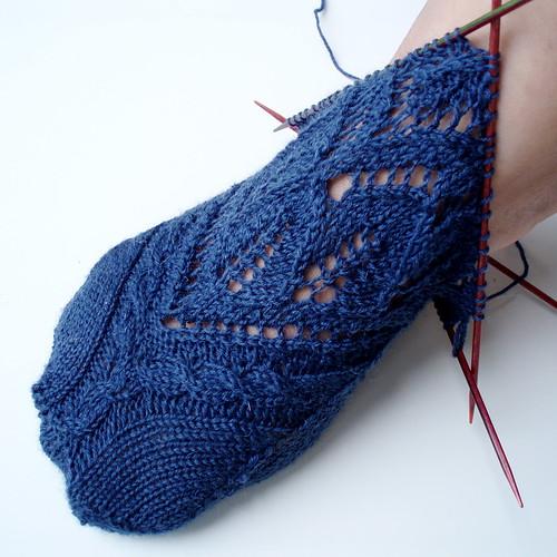 wip princess socks