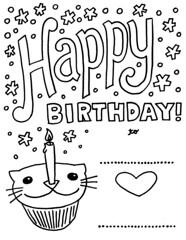 Happy Birthday CatCupcake