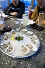 Oyster Bar Mix, Hog Island Oyster Co., Ferry Building Marketplace, San Francisco