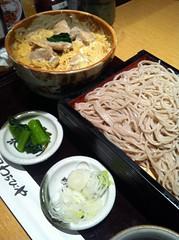 今日のランチは親子丼セット。¥900 #lunch