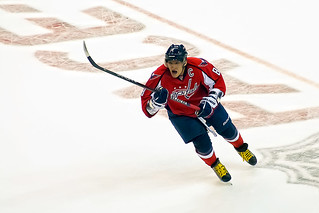 "Alex Ovechkin silenced everybody who said he was ""washed up,"" and scored 32 goals in a 48-game season. (clydeorama/Creative Commons)"
